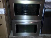"MSRP $2349.99 The 30"" Double Electric Wall Oven by"