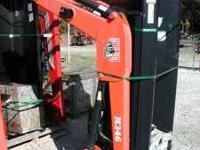New Bush Hog model M346 loader for Kubota M5040