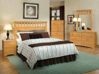 007 NEW FULL/ QUEEN 5PC BEDROOM SET WITH FRAME JUST