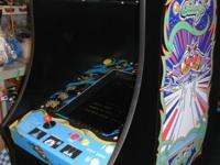 This is a brand new Galaga cabinet with 60 games ,made
