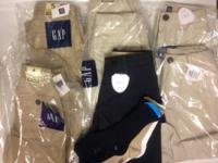 NEW GAP Uniform Bottoms boys 4/4s/5s   Online order,