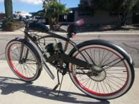 New Gas Powered 48cc DUI Legal Bicycle. My engines are