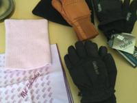 New Gates gloves, women's med, $25.00 Another pair of
