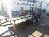 Stock 19247 Type Code UT Type Utility Trailer Year 2013