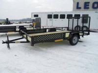 Stock 19309 Type Code UT Type Utility Trailer Year 2013