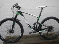 .NEW Giant Anthem Advanced carbon MTBike for sale 2015