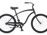 Men's Giant Simple Single Beach Cruiser Flat Black