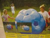 "new in box 51"" jumbo giga ball for up to 150 lbs and"