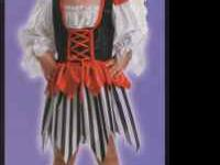 New with tags Girl Toddler Costumes Pirate Dress with
