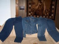 size 12 petitite newnice blue demin jeans Demin Jacket