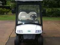 New 2010 zone golf cart. cart has D.O.T. approved