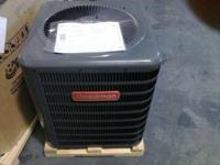 new a/c and heat units with 10 year manufacture