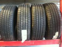 I have 4 new goodyear wrangler st-a P265/75/16 for