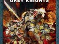 New Grey Knights codex for Warhammer 40k. I ordered 2