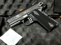 This is a GSG 922CA which is a 1911 style 22lr. I have