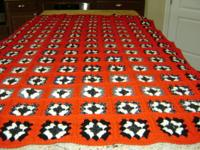 I have readily available four new handmade afghans.