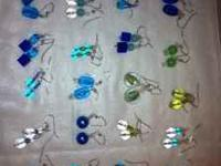 I have over 20 pairs of beautiful glass beaded