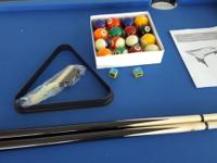 Selling newly bought portable pool table for $200. This