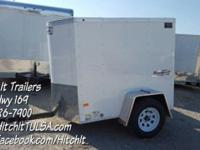 4 x 6 Haulmark Passport Enclosed Trailer. Perfect for