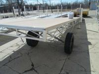 New Hewitt (white) 48' wheel end w / 8' L, 6 5ft