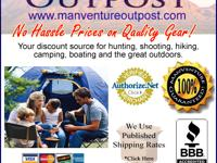 Man VentureOutpost your Houston Camping and Hiking gear