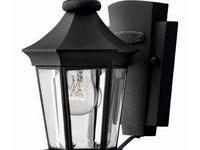 NEW IN BOX HINKLEY Senator 2506BK Light Fixture Black
