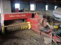 New Holland 278 square baler; wire ties; super sweep