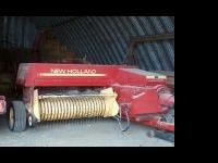 New Holand 326 baler with 75 pan kicker. Baler is in