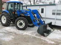 I am selling this New Holland 5030 with mechanical
