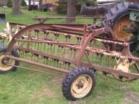 New Holland 56 rake. Works great. Used last season.