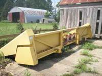 For Sale: New Holland 974 6 Row Wide Corn Head All Tin