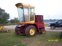 NH 1895 SP forage harvester needs work, does not