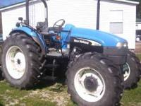 New Holland Farm Tractor TD - 95 - D 95hp 4wd Only has