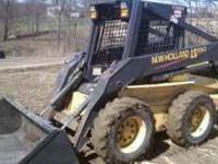 2003 NEW HOLLAND LS180 3900 HRS LIKE NEW BUCKET 2400LB