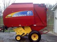 New - 2010 760 New Holland Round Baler - makes 4X5