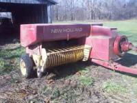 I have a 276 New Holland square baler for sale. It is