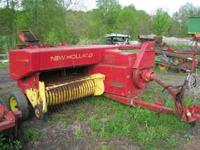 New Holland 276 Square Baler w/ Thrower,$4,800 Call