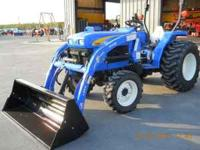 New Holland T1510 Tractor/Loader GS3169 - 30 Hsp