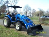 NEW HOLLAND TC35..(FULL SIZE TRACTOR) 35HP DIESEL, 4X4,