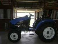 We have a 2002 new holland tc35, in mint codition, only