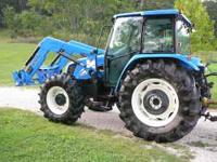 2007 TL100A New Holland Cab 4x4, 700 hours 830TL quick