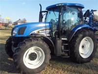 THIS TRACTOR IS A VERY CLEAN TRACTOR 115HP. 4X4 /LOADER