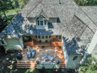 Beautiful stone home located on a gorgeous, private 3+