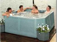 Hot Tub 4 Seats 2 Loungers picture from internet