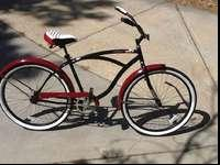 "Huffy Men's 26"" Santa Fe Cruiser, single speed, never"