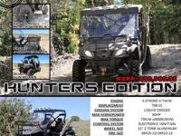 This American Based and Branded 800cc ODES UTV comes