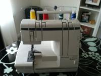 Features/Benefits : A serger is the perfect complement