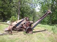 We have a New Idea Corn Picker for sale. It is all