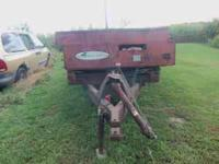New Idea manure spreader used 2 years ago and stored in