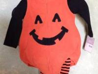 Brand new with tag Carter's super cute pumpkin costume